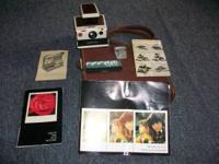 Polaroid SX70 Land Camera, original owner, everything