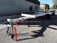 Pole Trailer Refurbished Reid Single Axle 35ft -