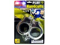 These plastic handcuffs are produced playing burglars