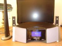 The I-Sonic Entertainment System is a complete audio