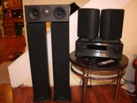 True surround sound system with front and rear