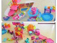 Polly Pocket Lot - $125 - CASH ONLY   All in Great
