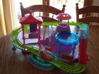Polly Pocket Roller Coaster with one doll and roller