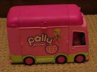 In Mint Shape!!!! Polly Pocket Van with accessories.