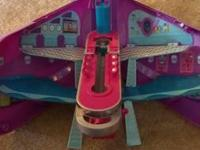 Polly Pocket Cruise Ship, Polly Pocket Air plane, Polly