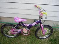 "Polly Pocket Bike Wheels 18"", In Excellent Condition"