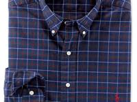 This timeless plaid sport shirt is crafted from