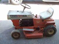 older riding mower made in usa has no spark but it does