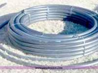 "i have about 200 feet of 2"" polypipe i would like to"