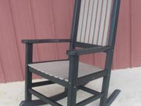 I have several classic poly rocking chairs for sale at