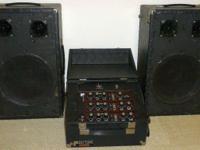 Vintage, Polytone, MINI-BRUTE V PA, 2-Speaker,