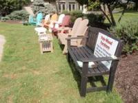 Polywood adirondack chairs sell for $235.00 Free local