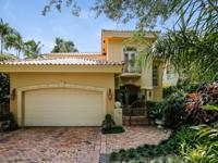 Situated on one of Miami's most charming and desirable