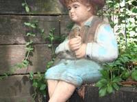 "This is an original Pond Fishing Boy ""Huck Finn"" by"