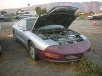 This is a 1996 Pontiac Firebird, with a 350 Chevy motor