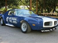 1970 Pontiac Firebird Trans-Am First production car to