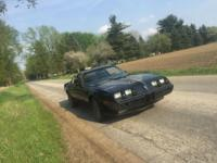 Up for sale is my 1981 Pontiac Trans-Am. ABSOLUTELY