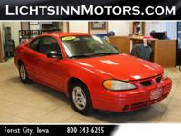 Yes it's a Red Pontiac Grand Am 2 door! Does have