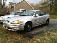 2001 Pontiac Grand Am GT. this car comes with the 3400