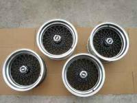 I have a set of 4 reproduction pontiac gta rims for
