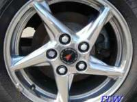 I have a set for 4 Pontiac Rims with Tires on them,