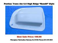Pontiac Trans Am Shaker Hood Scoop 6.6 Bandit Style.