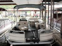 2005 Signature Series 21ft. pontoon boat with 90hp.