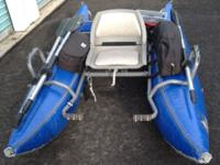 Outcast Pontoon Boat, $950.00 Used very little and