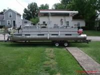 hoosier pontoon boat trailer jason dietsch sales for sale in edgerton ohio classified. Black Bedroom Furniture Sets. Home Design Ideas