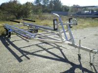 NEW Tandem Axle, Totally Adjustable, Galvanized Pontoon
