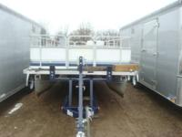 2013 WOLVERINE PONTOON TRAILERS, FLOAT ON, BUNK STYLE