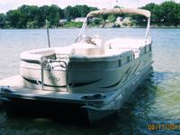 Pontoon Boat Sale price: $24,000 VERY LOW HOURS...275