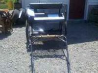 Relatively new pony cart. Rarely used and is in