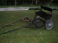 New pony cart for sale or trade for and adult horse