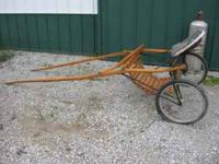 I bought this training cart a few years ago and never