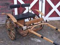 BEAUTIFUL!!!! Pony or Mini Horse Cart, Amish built,
