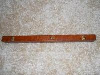 Swimming pool Cue with case, 20 oz. Fantastic shape!