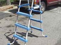 pool ladder for small above ground kid pool 54 inches
