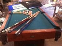FOR SALE POOL TABLE, PING PONG TABLE and MILLER Bar