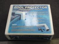WE HAVE FOR SALE A POOL PROTECTOR   IT IS USE BUT IN