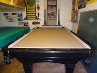 Pool Table - Black finish - Diamond rail sights -
