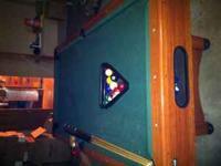 "Mizerak Savoy Space-Saver 79"" X 39"" Billiard Table fits"