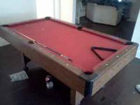 i have a pool table sitting in the middle of my house