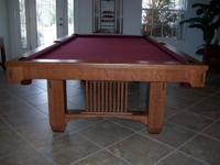 Pool Table - Perfect Condition $6000 new for sale