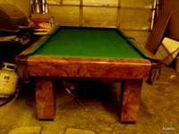 SELLING MY TABLE POOL 7 FOOT , CALL ME AT  ASK FOR