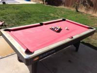 Easton Pool Table Specifications Pool Table Dimensions:
