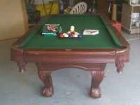Pool Table. Sports Craft. Barely used. Always covered
