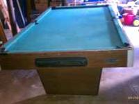 This pool table is taking up to much space in my