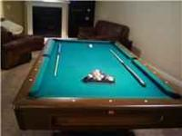 Pool table in excellent condition. $400. Includes