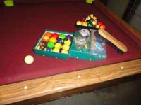 I Am Selling My 8 Foot Pool Table For $400. Thereu0027s